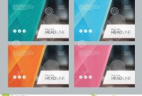 Template Design For Social Media And Web Banners Background Stock within Social Media Brochure Template