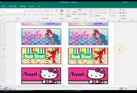 Template For  Pack Crayon Box Labels Diy Tutorial Publisher throughout Crayon Labels Template