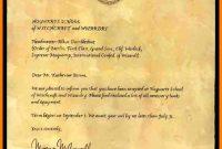 Template Harry Potter Letter  Savethemdctrails with Harry Potter Certificate Template
