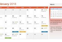 Template Ideas Calendar Templates Microsoft And Open Office pertaining to Microsoft Powerpoint Calendar Template