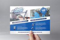 Template Ideas Cleaning Service Flyer V On Brochure Templates with Cleaning Brochure Templates Free