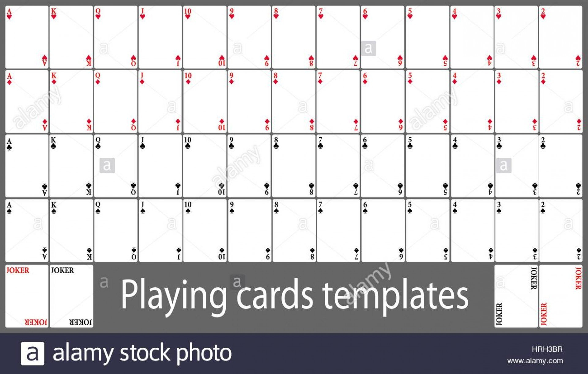 Template Ideas Deck Of Cards Shocking For Google Blank Download Intended For Deck Of Cards Template