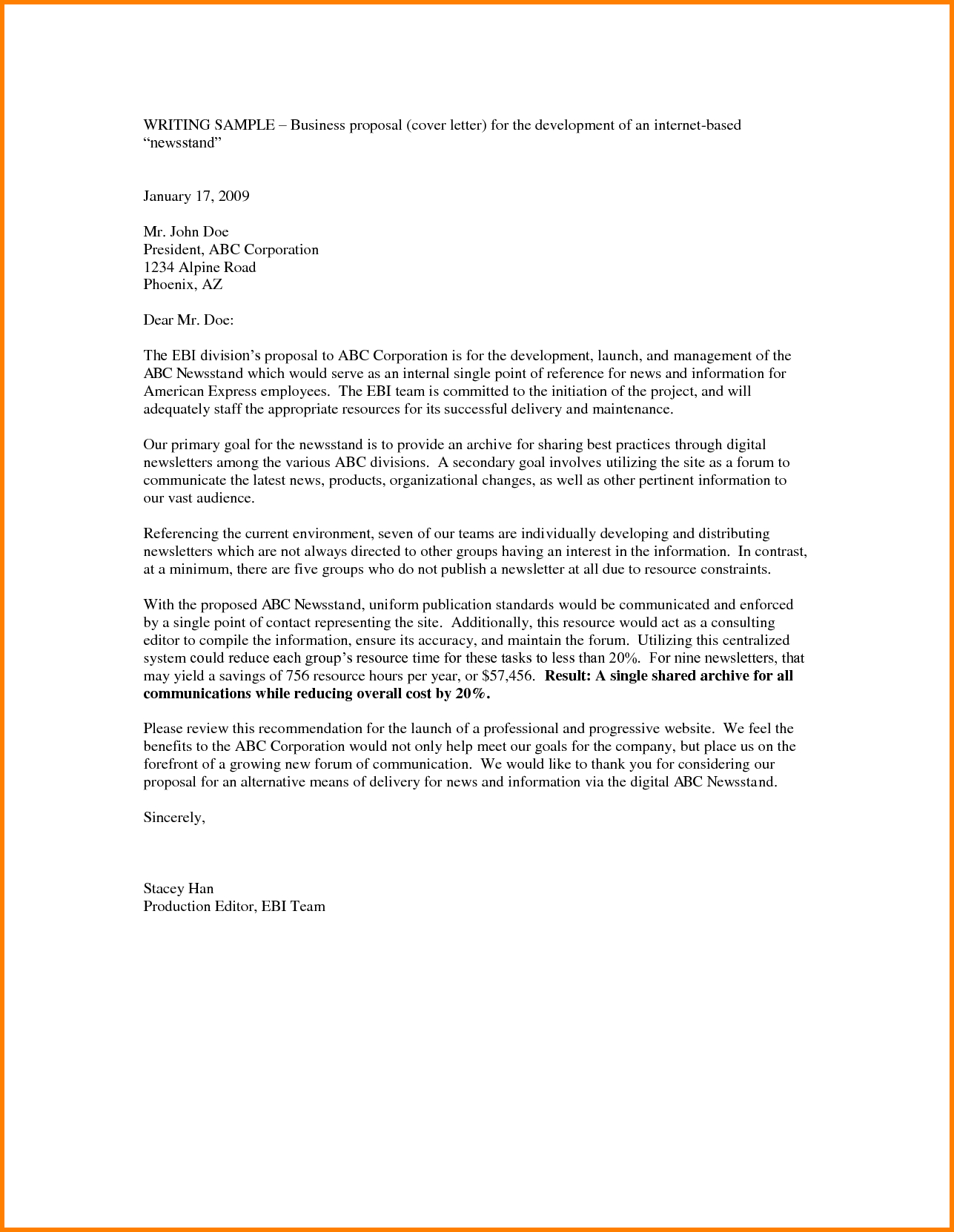 Template Ideas For Business Stirring Proposal Email Presentation Within Email Template For Business Proposal