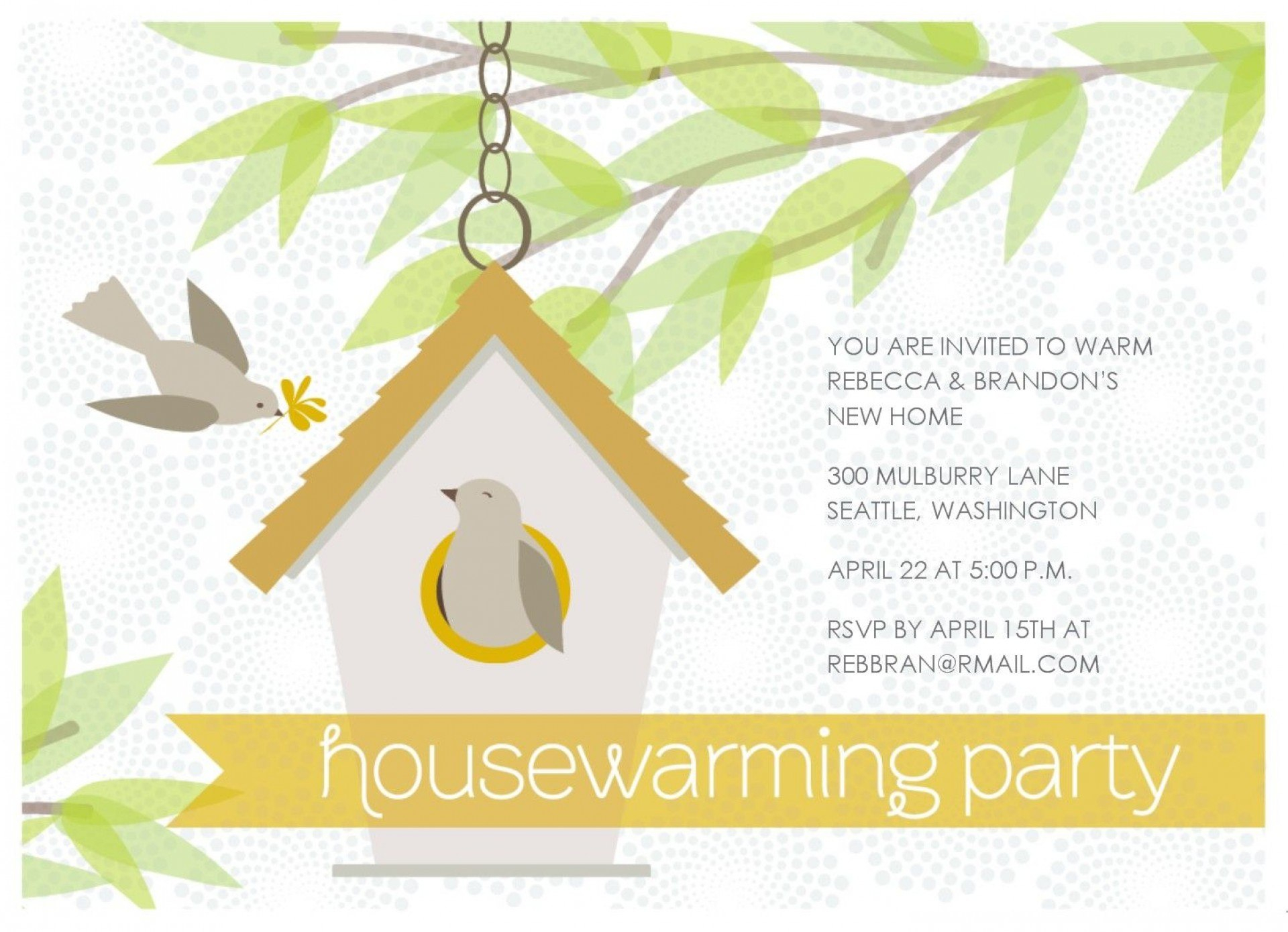 Template Ideas Free Housewarming Invitation Awesome Templates Inside Free Housewarming Invitation Card Template