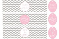 Template Ideas Free Printable Baby Shower Water Bottle pertaining to Free Water Bottle Labels For Baby Shower Template
