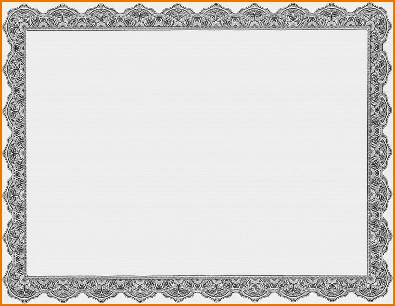 Template Ideas Free Printable Certificate Templates Borders For Intended For Free Printable Certificate Border Templates
