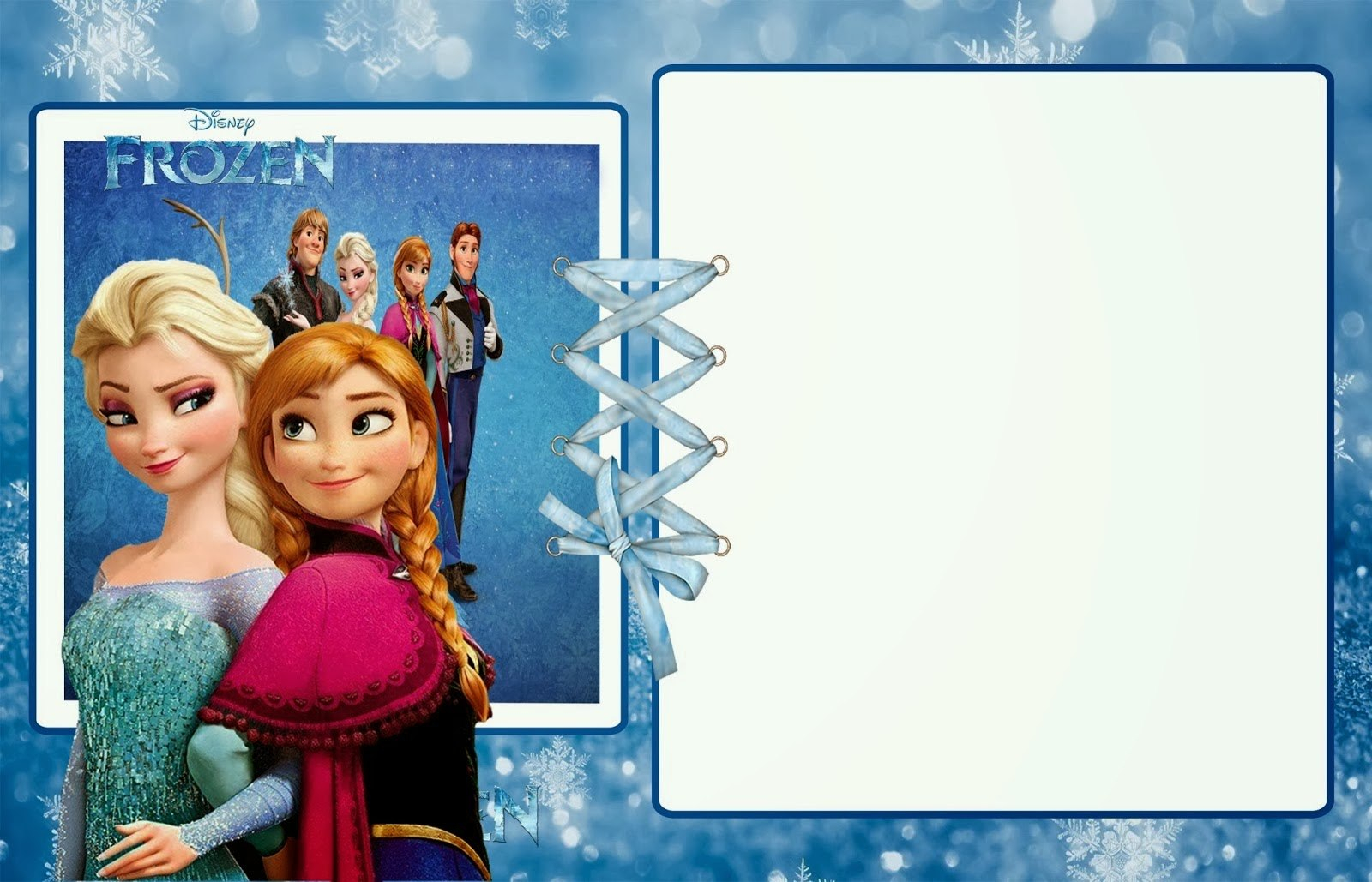 Template Ideas Frozen Birthday Invites How To Party Invitations Within Frozen Birthday Card Template