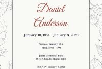 Template Ideas Funeral Invitation Exceptional Free Download Card for Funeral Invitation Card Template
