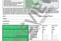 Template Ideas Hvac Maintenance Singular Contract Forms throughout Pilot Test Agreement Template