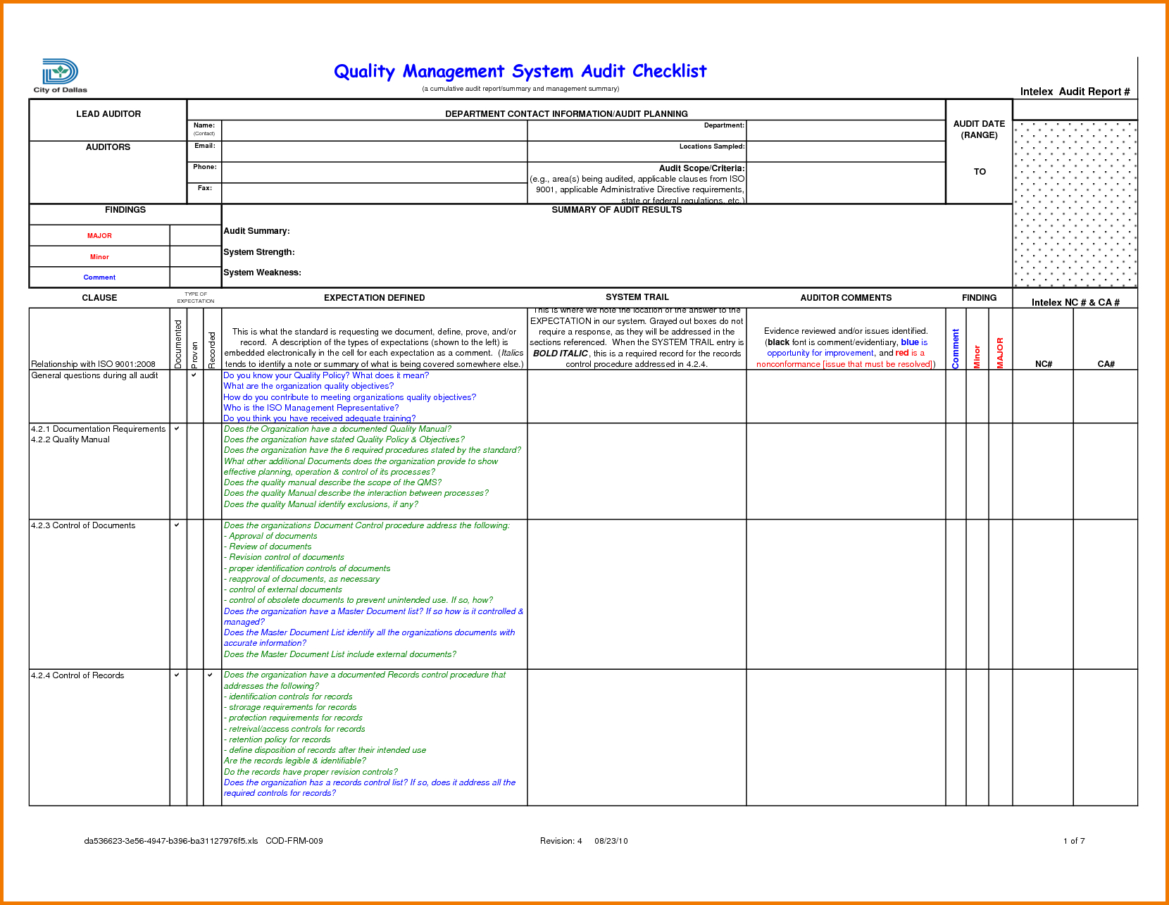 Template Ideas Internal Audit Report Templates  Stupendous For Template For Audit Report