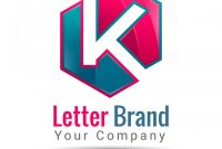 Template Ideas Letter K Logo Business Icon Vector Free Templates throughout Business Logo Templates Free Download
