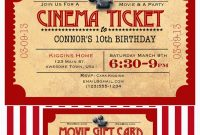 Template Ideas Like Mom And Apple Pie Summer Of Movies Free with Movie Gift Certificate Template