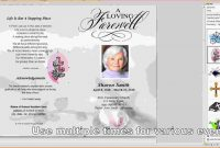 Template Ideas Memorial Card Free Download Funeral Program inside Memorial Cards For Funeral Template Free