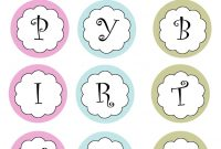 Template Ideas Printable Banners Templates Free Print Your Own with Printable Banners Templates Free