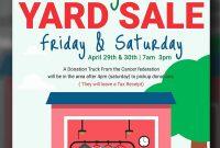 Template Ideas Yard Sale Flyer Word Best Of Templates Amp Psd regarding