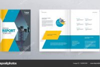 Template Layout Design Cover Page Company Profile Annual Report inside Cover Page For Annual Report Template
