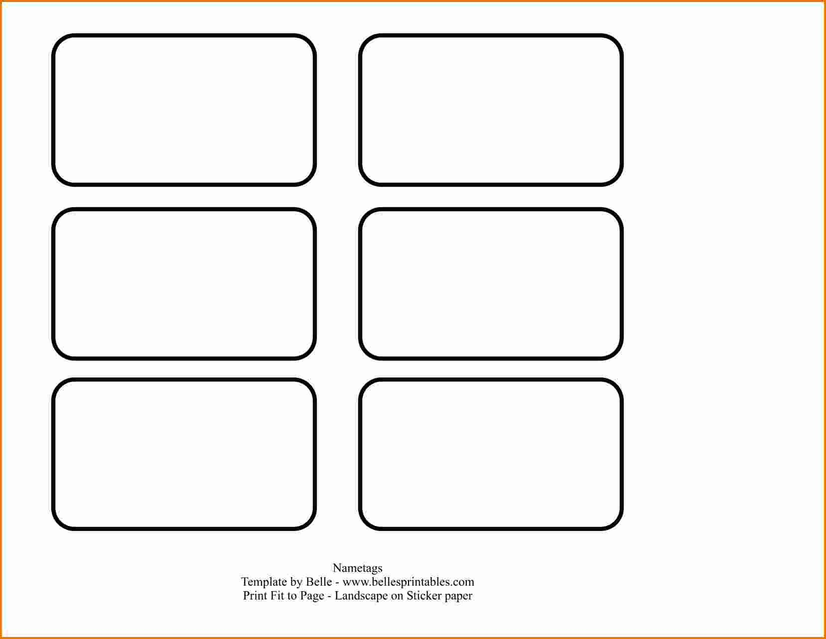 Template Name Tag Word  Savethemdctrails Intended For Visitor Badge Template Word