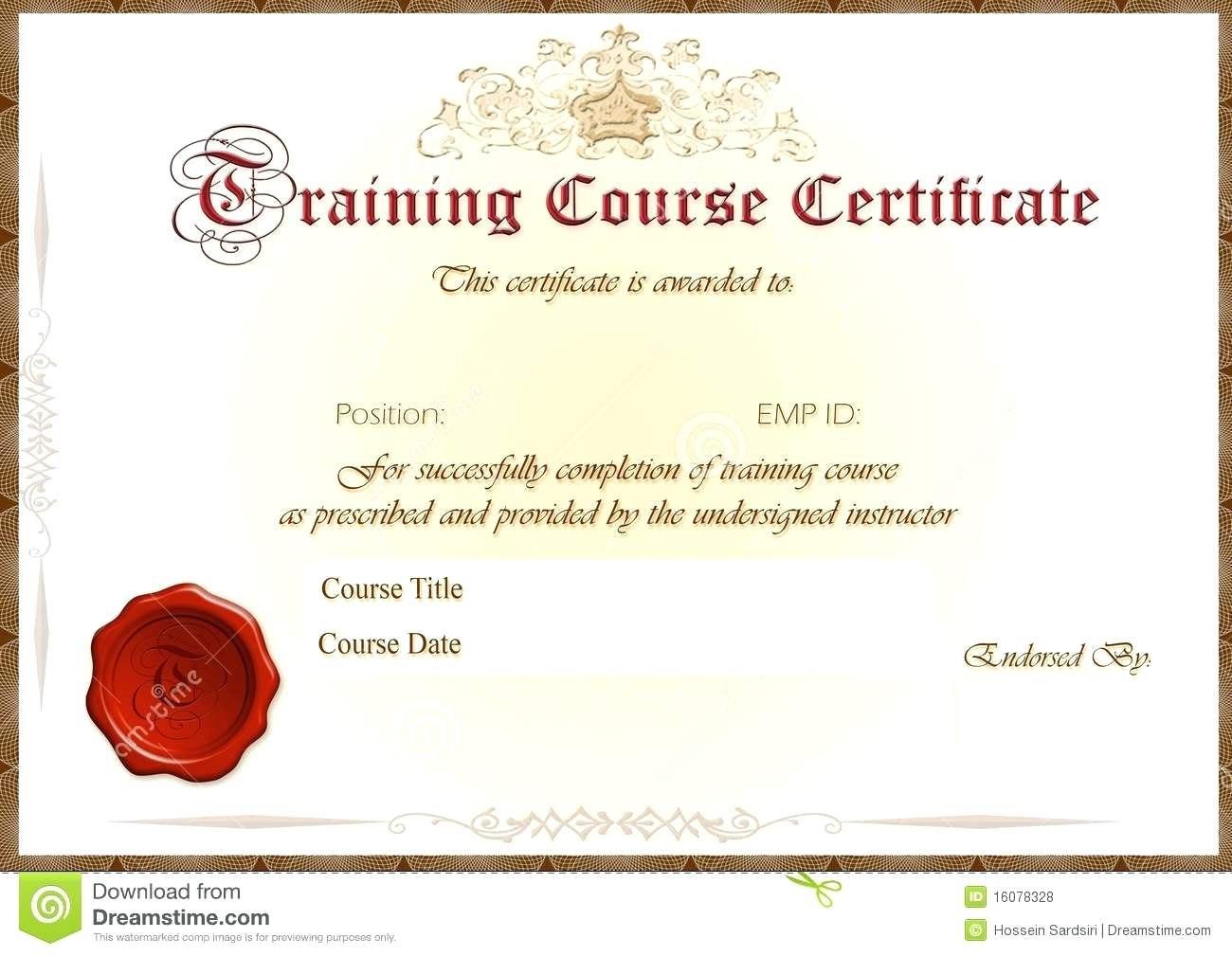 Template Training Certificate Template Fire Extinguisher Word With Inside Fire Extinguisher Certificate Template