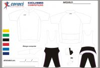 Templates  Carvalho Custom within Blank Cycling Jersey Template