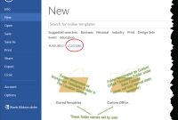 Templates In Microsoft Word  One Of The Tutorials In The intended for How To Save A Template In Word