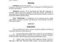 Templates Trademark Assignment Agreement  Templates Hunter Intended For Trademark Assignment Agreement Template