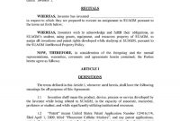 Templates Trademark Assignment Agreement  Templates Hunter with regard to Invention Assignment Agreement Template