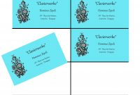 Ten Card Template For Gimp Business Cards  Wimpy Tricks For Gimpers pertaining to Gimp Business Card Template