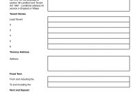 Tenancy Agreement Form England And Wales Eddie Cheever pertaining to Excluded Licence Lodger Agreement Template