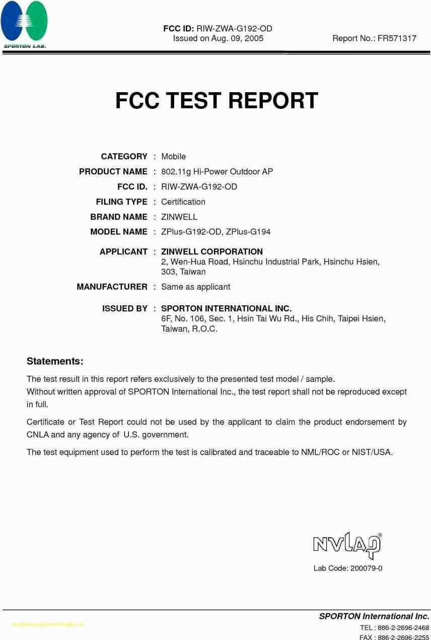 Test Report Template  Meetpaulryan Throughout Megger Test Report Template
