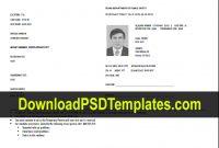 Texas Temporary Permit Template Psd inside Texas Id Card Template