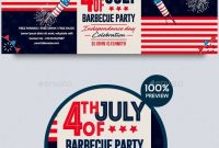 Th Of July Bbq Facebook Cover Bbq July Cover Facebook  Menu in 4Th Of July Menu Template