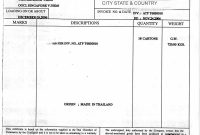 Thailand Certificate Of Origin And What It Means In Thailand throughout Certificate Of Origin Form Template