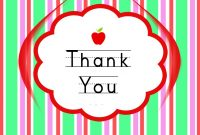 Thank You Cards For Teachers Backgrounds For Powerpoint  Events Ppt pertaining to Powerpoint Thank You Card Template