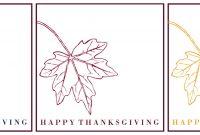 Thanksgiving Place Card Printable  Taryn Whiteaker within Thanksgiving Place Card Templates