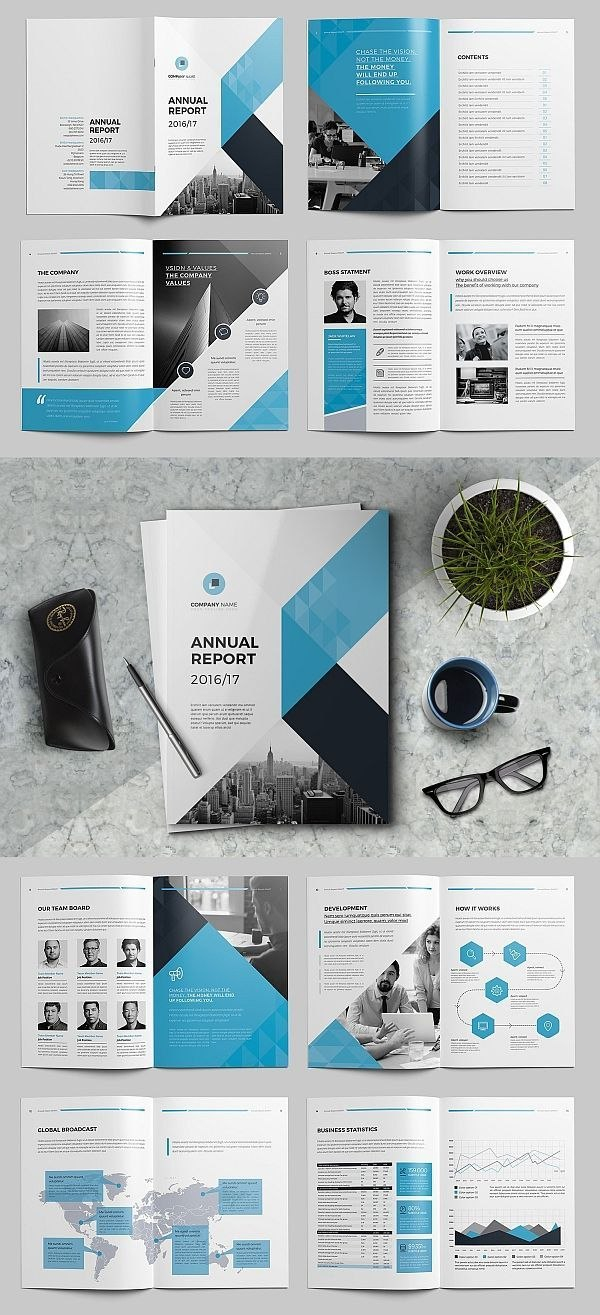 The Annual Report Template Brochure Template Indesign Templates In Annual Report Template Word Free Download