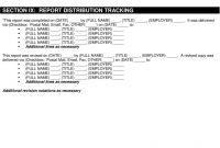 The Apex Postevent Report Template  Pdf in After Event Report Template