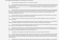 The Aztec Recognition Agreement  Nyc Blog Estate pertaining to S Corp Shareholder Agreement Template