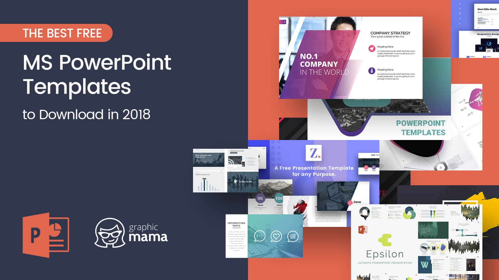 The Best Free Powerpoint Templates To Download In   Graphicmama With Regard To Free Powerpoint Presentation Templates Downloads