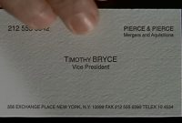 The Business Cards Of American Psycho  Hoban Cards throughout Paul Allen Business Card Template