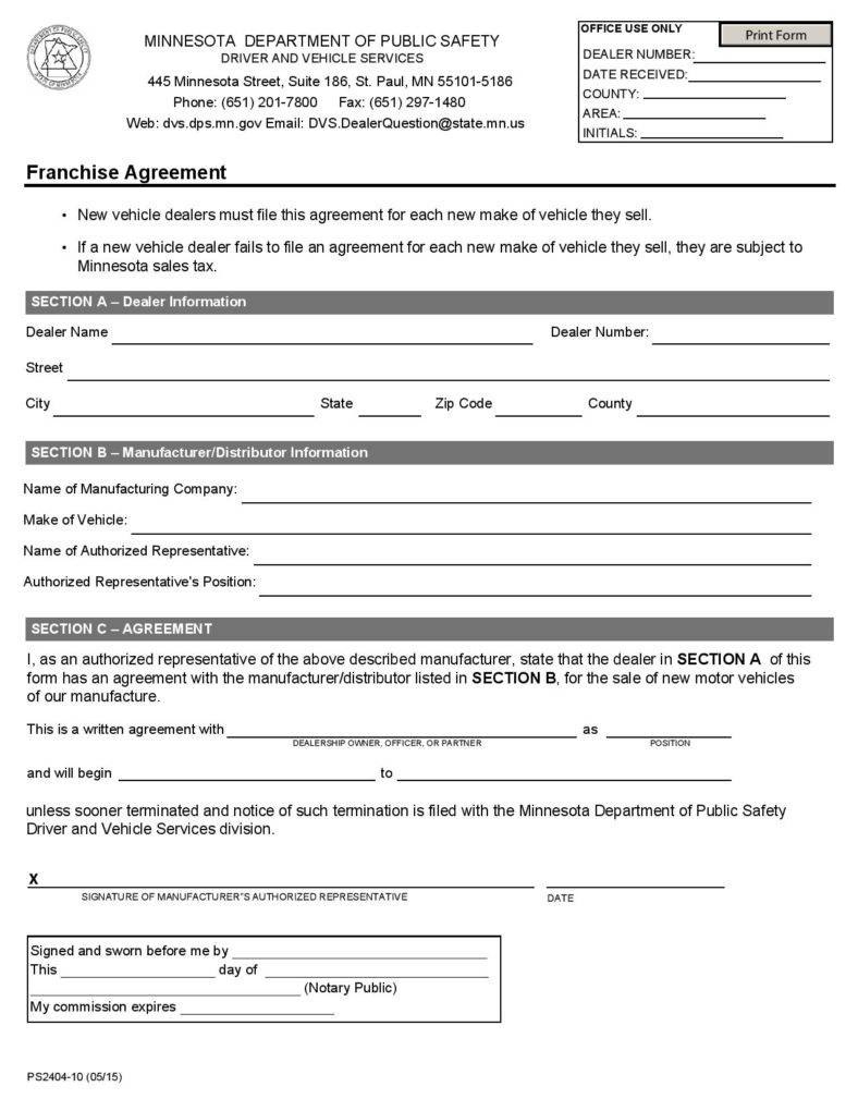 The Importance Of Written Business Agreements  Free  Premium Templates In Master Franchise Agreement Template