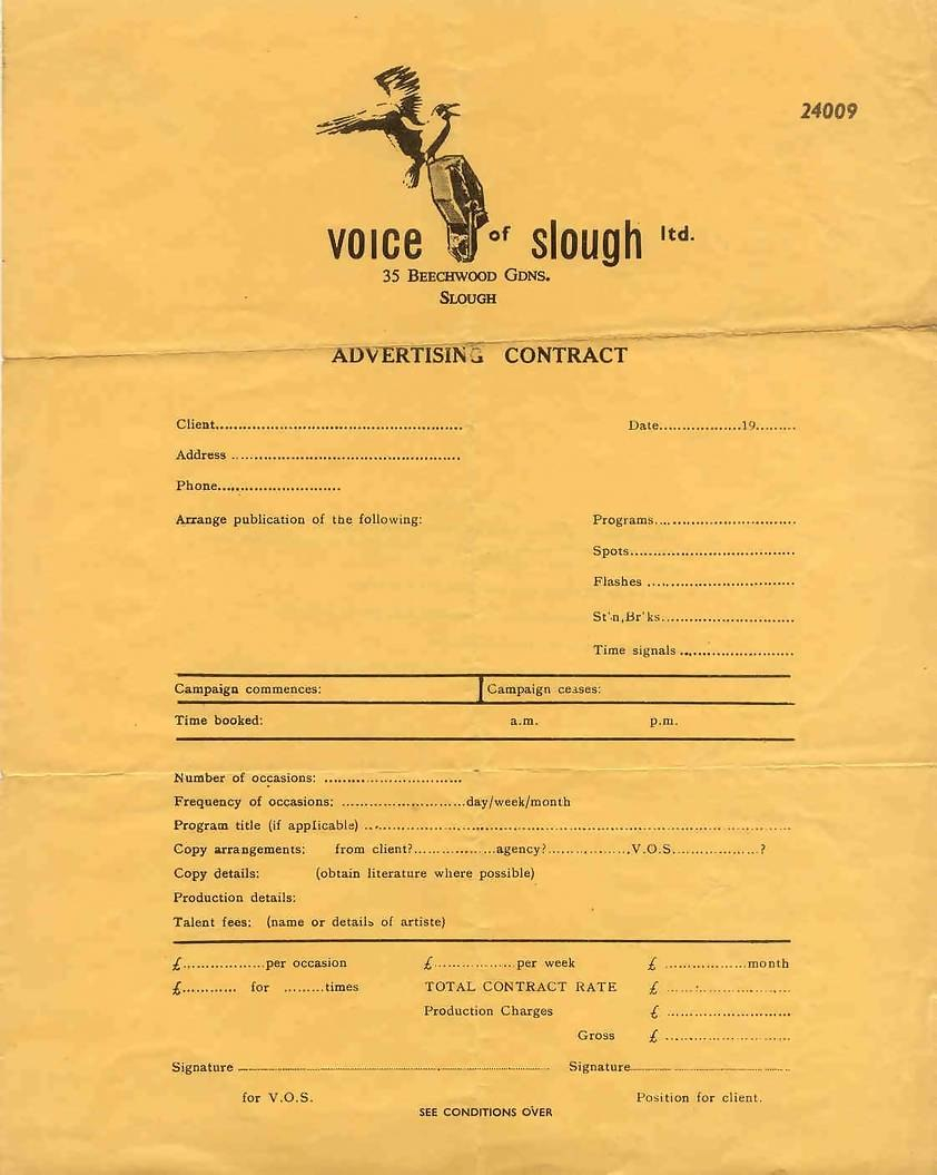 The Keith Martin Story With Radio Advertising Agreement Template