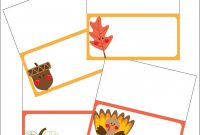 The Sassy Pack Rat Thanksgiving Place Card Printable Freebie intended for Thanksgiving Place Card Templates