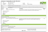 The Statement Of Applicability In Iso  – Vigilant Software inside Security Audit Report Template