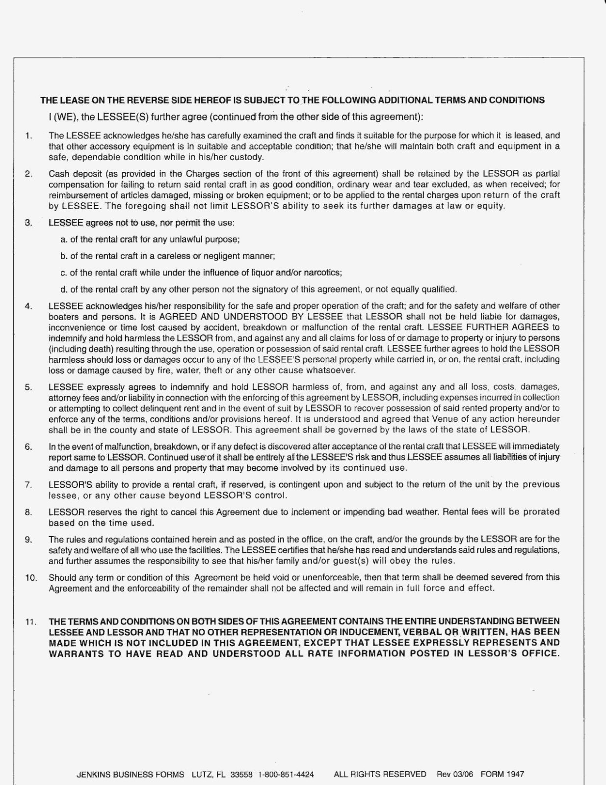 The Truth About Boat Charter Agreement  Form Information Inside Yacht Charter Agreement Template