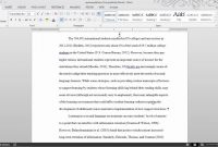 Thesis Formatting Ms Word Tips  Youtube throughout Ms Word Thesis Template