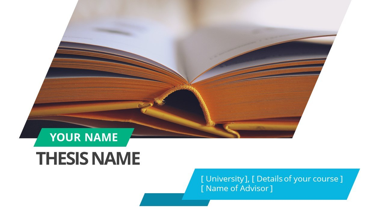 Thesis Presentation Powerpoint Template  Slidemodel With