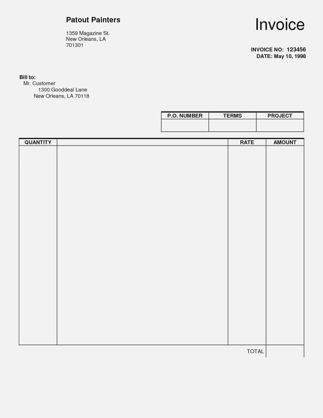 Things You Won't Miss  Realty Executives Mi  Invoice And Resume Regarding Invoice For Self Employed Template