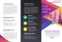 Three Fold Brochure Template Google Docs with Travel Brochure Template Google Docs