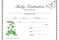 Top  Baby Dedication Certificate Hd Wallpapers inside Baby Christening Certificate Template