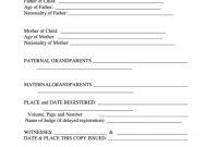 Top Birth Certificate Translation Templates Free To Download In Pdf in Birth Certificate Translation Template